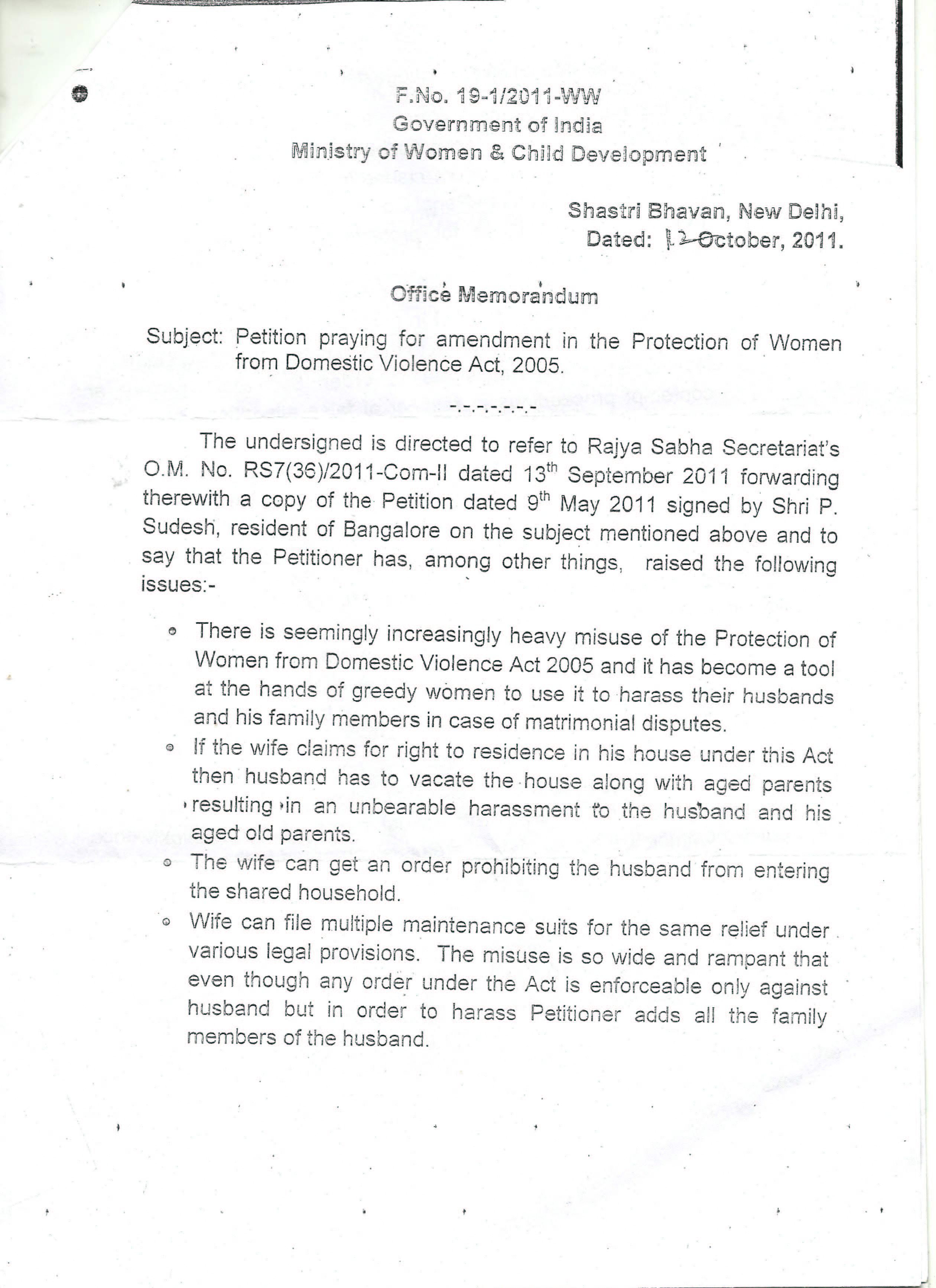 divorce notice to wife format in india pdf